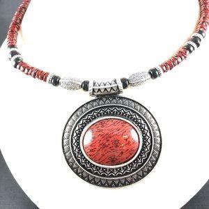 Premier Designs beaded BOHO Southwest Necklace